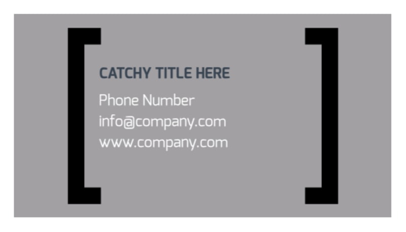 Top Engineering Consultants Business Card Template Preview 3