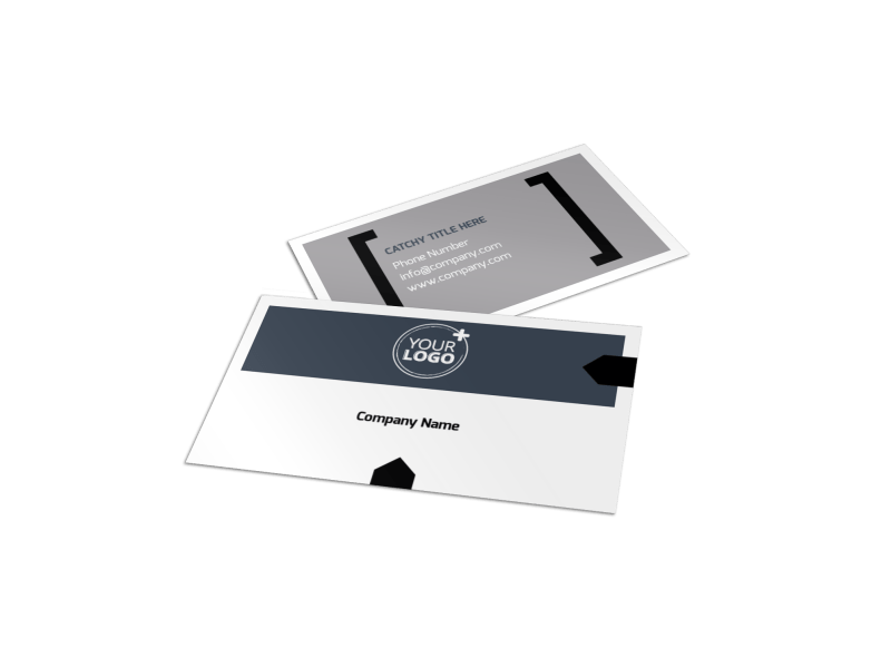 Top Engineering Consultants Business Card Template Preview 1