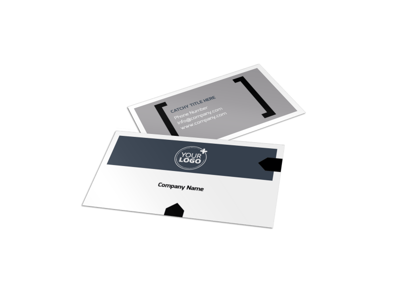 Physical Therapy Business Card Template Preview 1