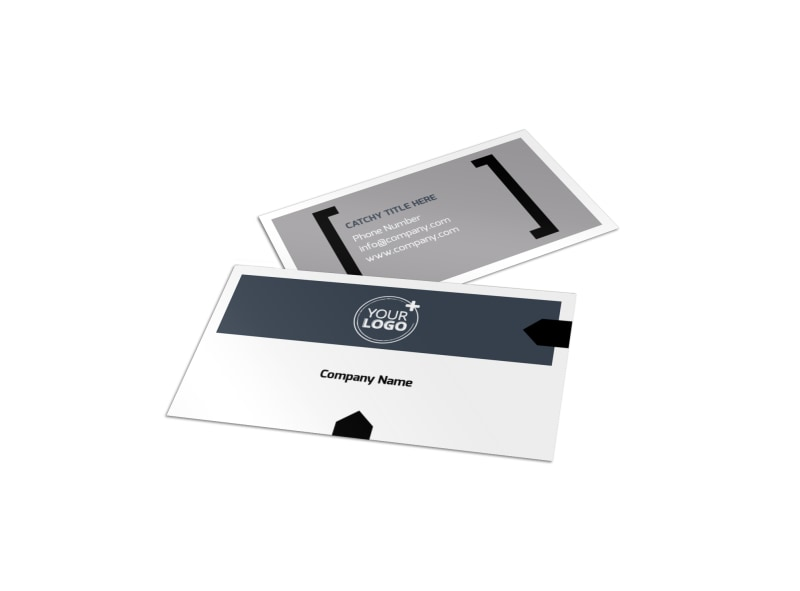 Physical The Business Card Template
