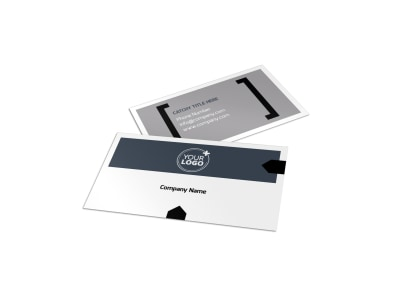 Physical Therapist Business Card Template preview