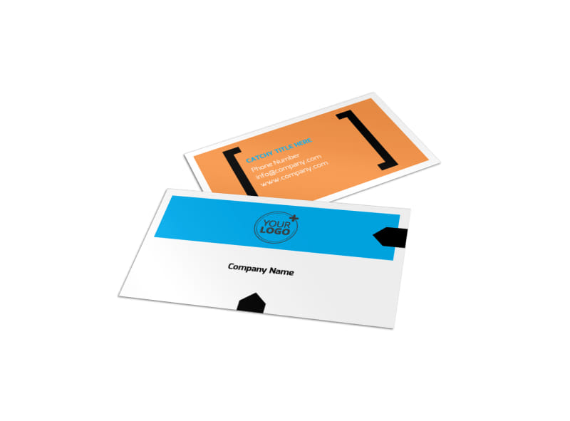 Music Band Info Business Card Template