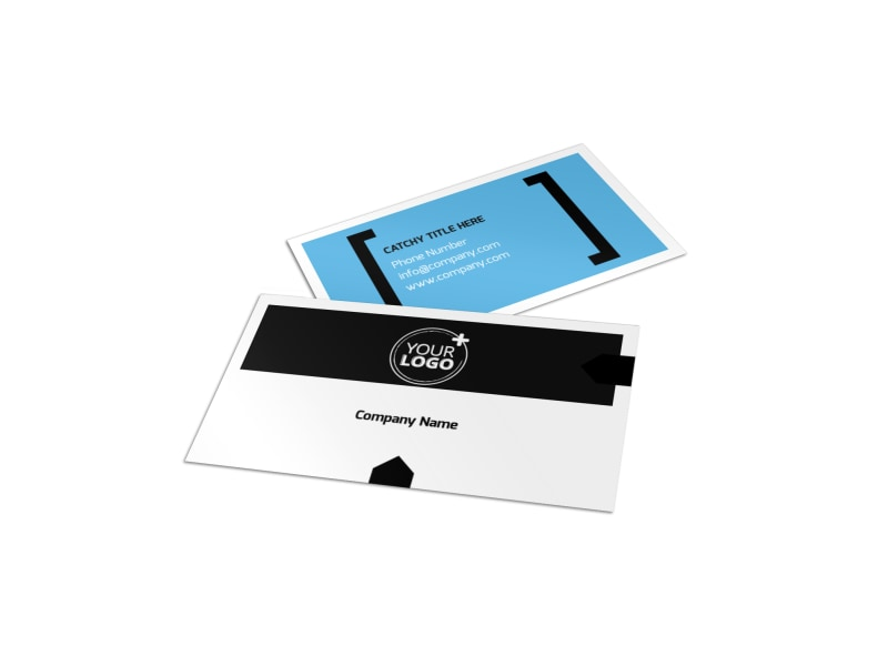 General Business Event Business Card Template | Mycreativeshop