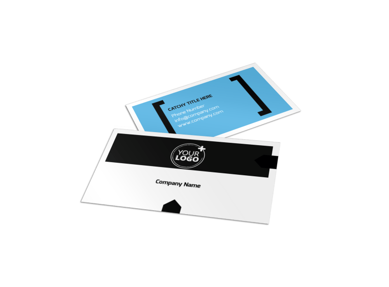 General Business Event Business Card Template Preview 1