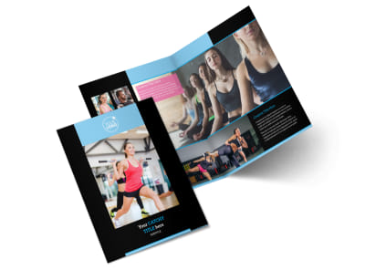 Personal Trainer Bi-Fold Brochure Template 2