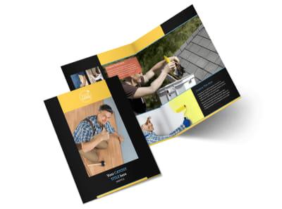 Handyman Services Bi-Fold Brochure Template 2