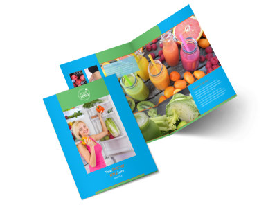 Nutrition Education Bi-Fold Brochure Template 2