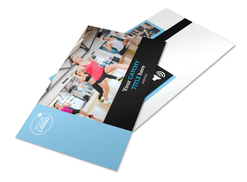 Personal Trainer Postcard Template 2