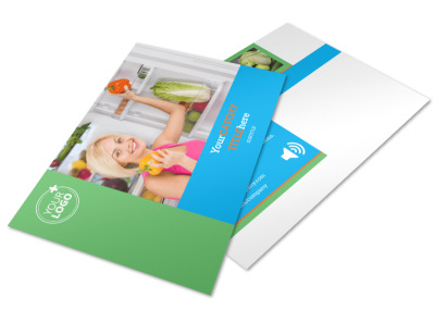 Nutrition Education Postcard Template 2