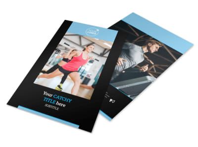 Personal Trainer Flyer Template 3