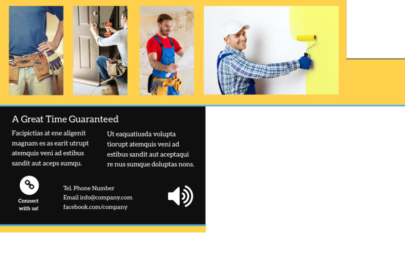 Handyman Service Postcard Template Preview 3