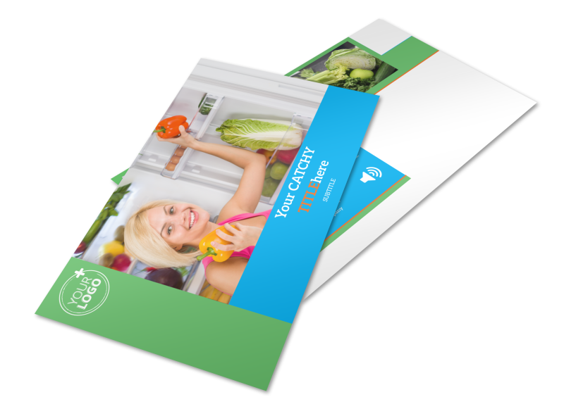 Nutrition Education Postcard Template Preview 1