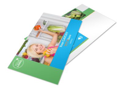 Nutrition Education Postcard Template