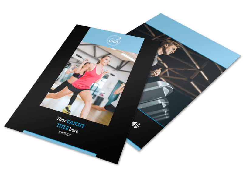 Upscale Fitness Gym Flyer Template  Mycreativeshop