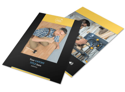 Handyman Services Flyer Template preview