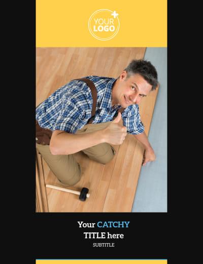 Handyman Service Flyer Template Preview 1