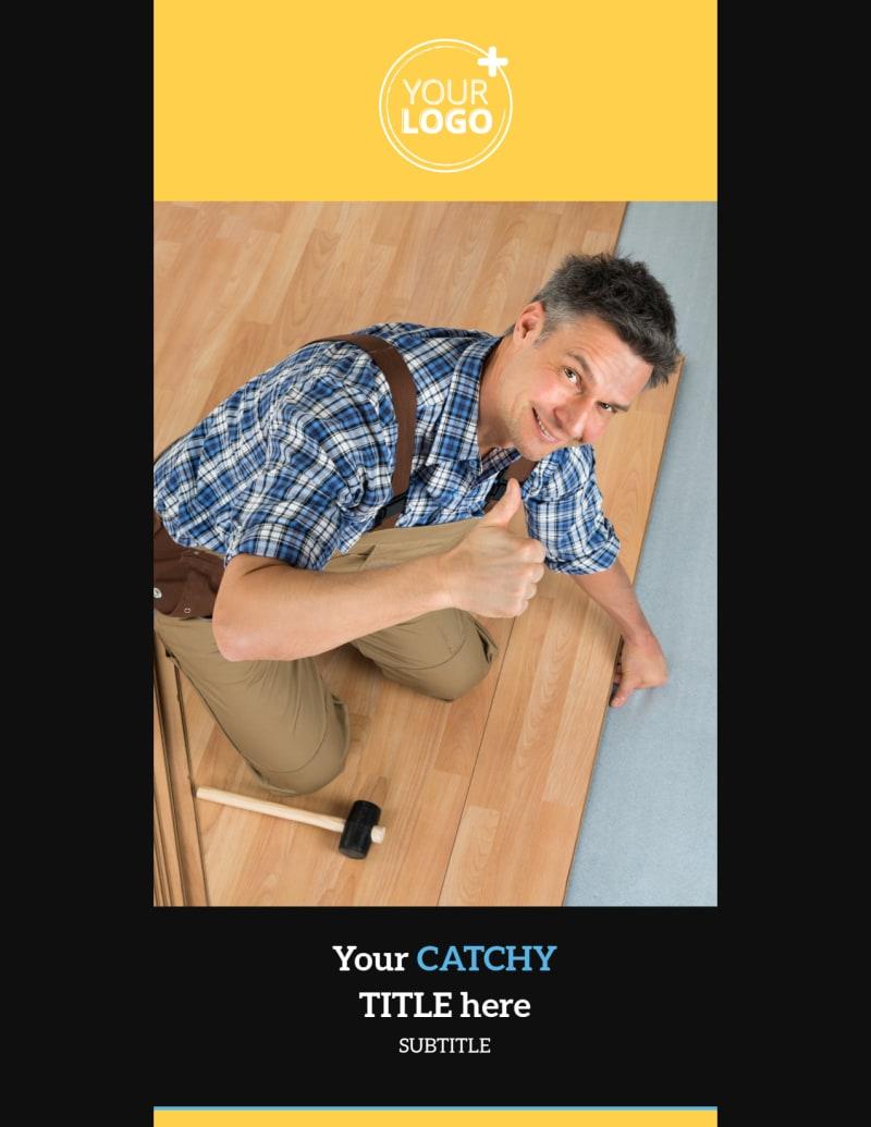 Handyman Service Flyer Template Preview 2