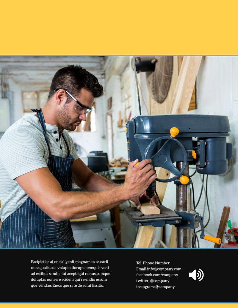 Handyman Services Flyer Template