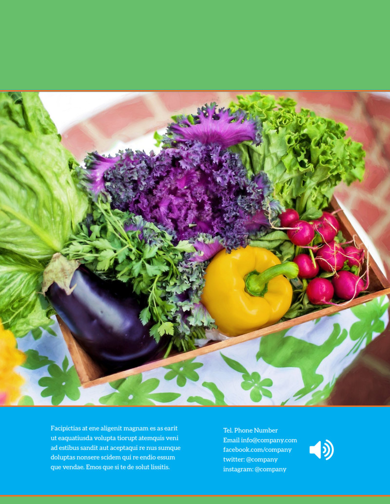 Nutrition Education Flyer Template Preview 3