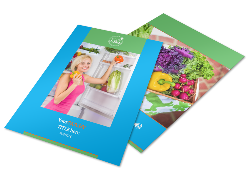 Nutrition Education Flyer Template Preview 1