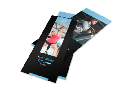 Personal Trainer Flyer Template 2