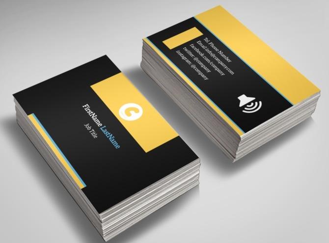 Handyman Services Business Card Template