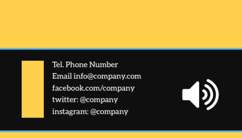 Handyman Service Business Card Template Preview 3