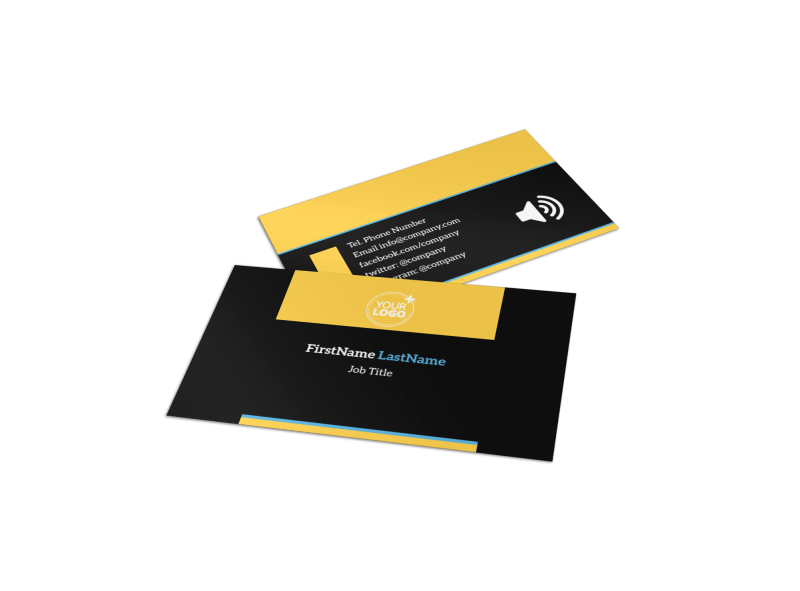 Handyman Service Business Card Template Preview 1
