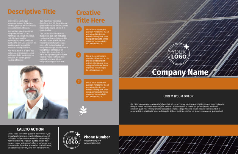 Clean Energy Consulting Brochure Template Preview 2