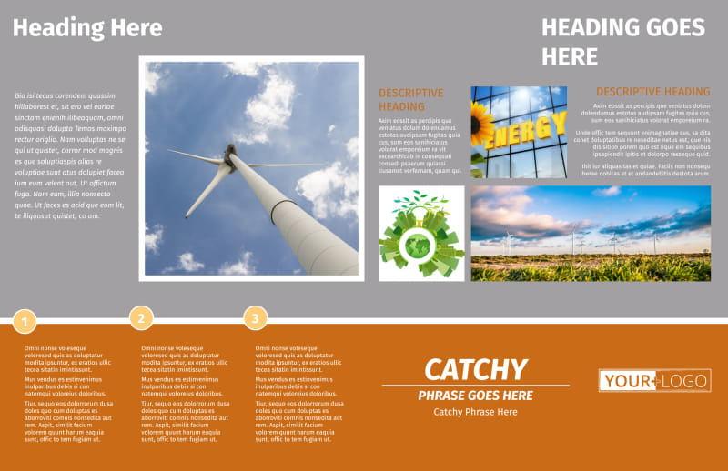 Clean Energy Consulting Brochure Template Preview 3
