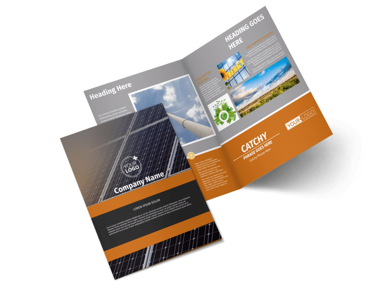 Clean Energy Consulting Brochure Template Preview 1