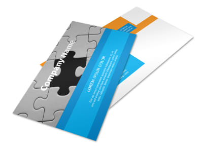 HR Consulting Postcard Template 2