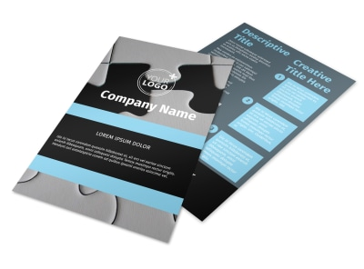 Mergers & Acquisition Firm Flyer Template 3