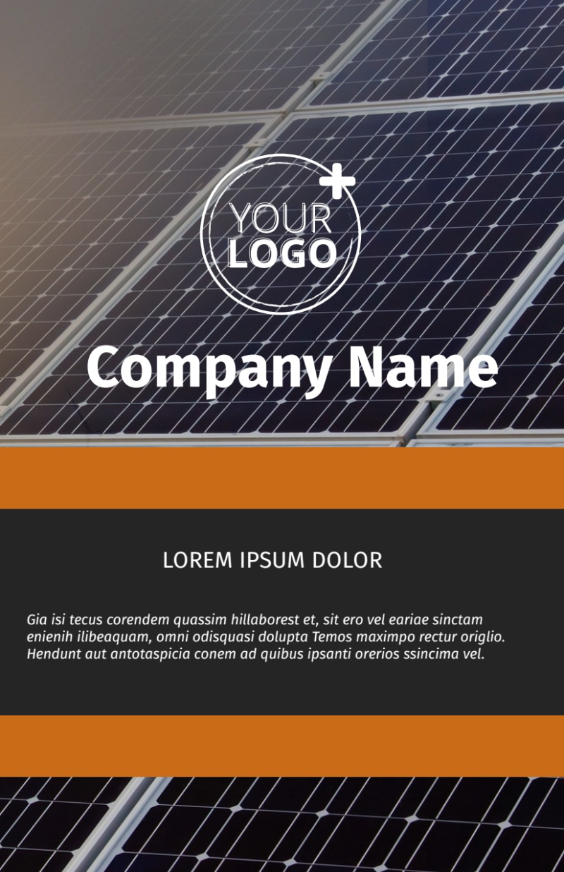 Clean Energy Consulting Flyer Template Preview 2