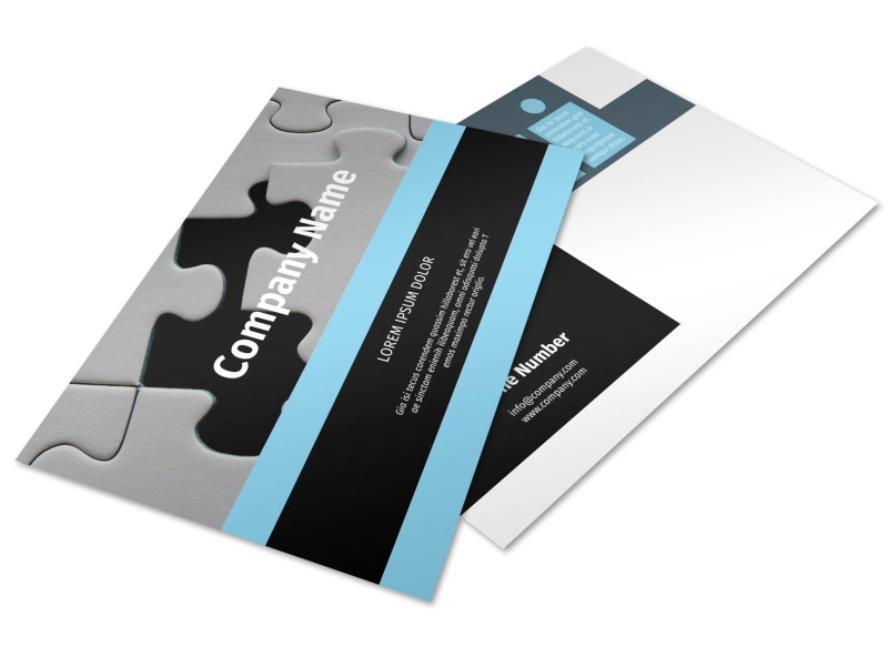 Mergers & Acquisition Firm Postcard Template Preview 4
