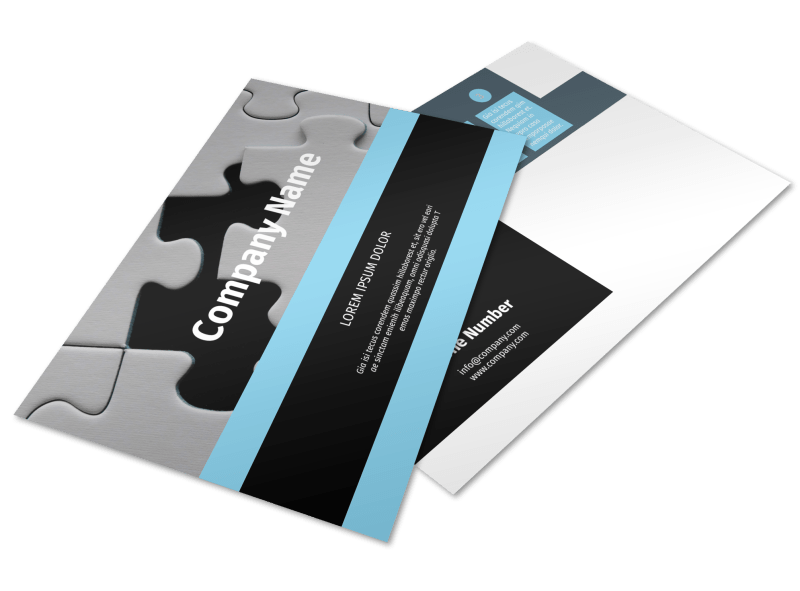 Mergers & Acquisition Firm Postcard Template Preview 1