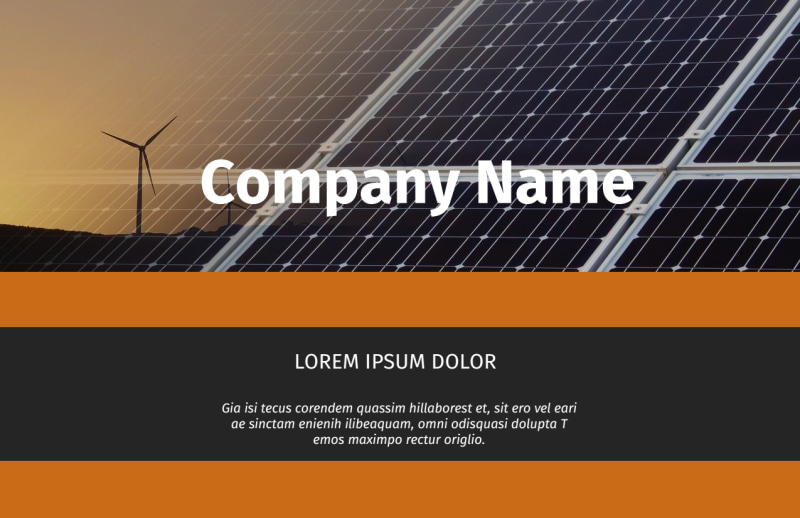 Clean Energy Consulting Postcard Template Preview 2