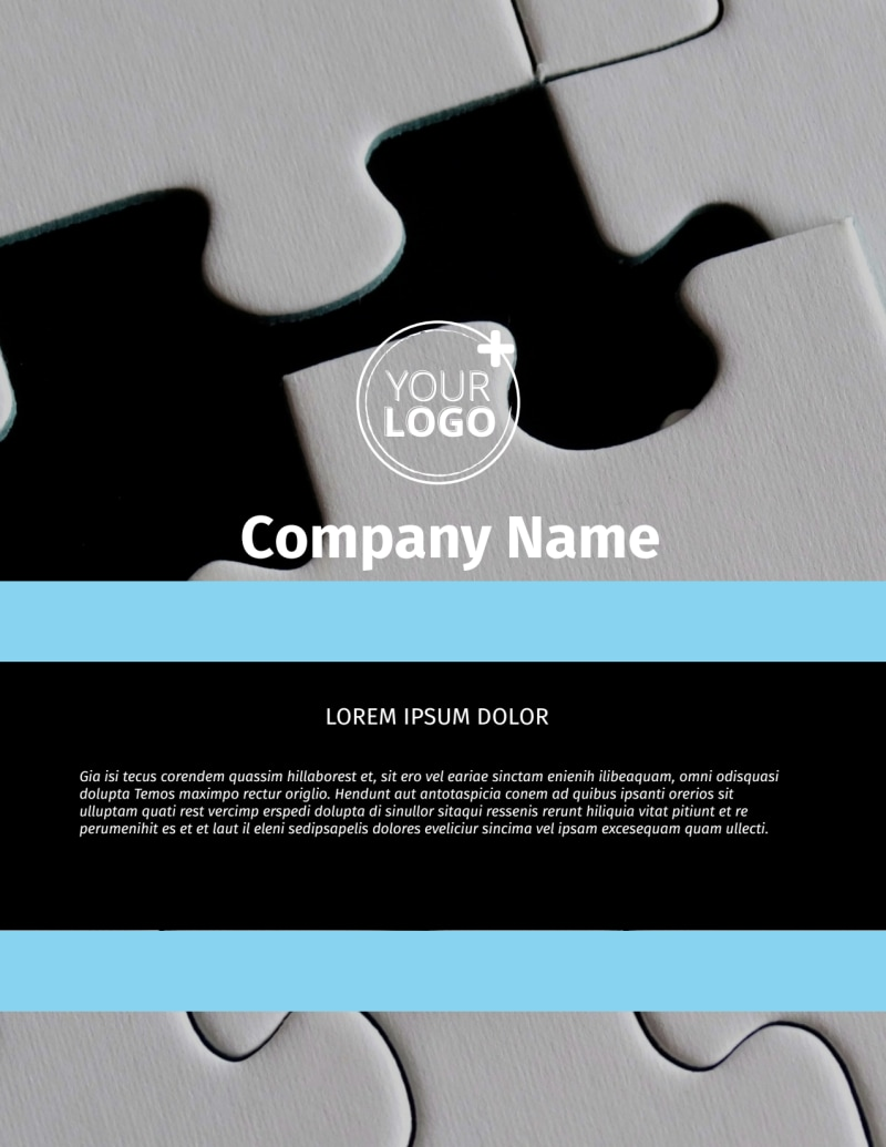Mergers & Acquisition Firm Flyer Template Preview 2
