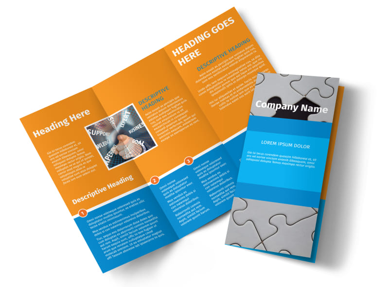 HR Consulting Brochure Template Preview 4