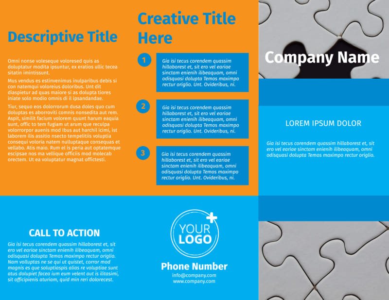 HR Consulting Brochure Template Preview 2