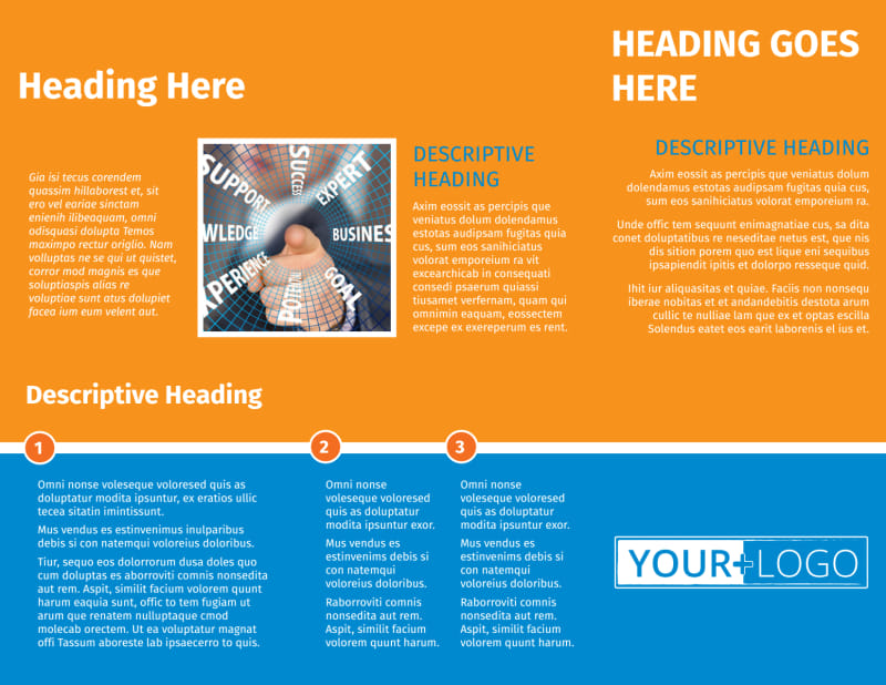 HR Consulting Brochure Template Preview 3