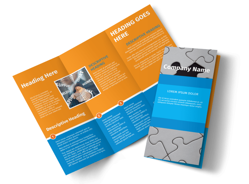 HR Consulting Brochure Template Preview 1