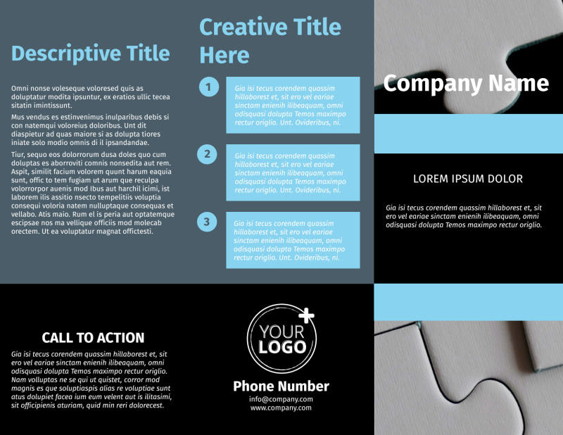 Mergers & Acquisition Firm Brochure Template Preview 2