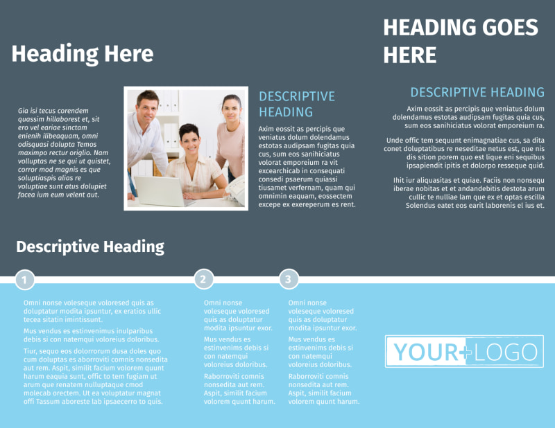 Mergers & Acquisition Firm Brochure Template Preview 3