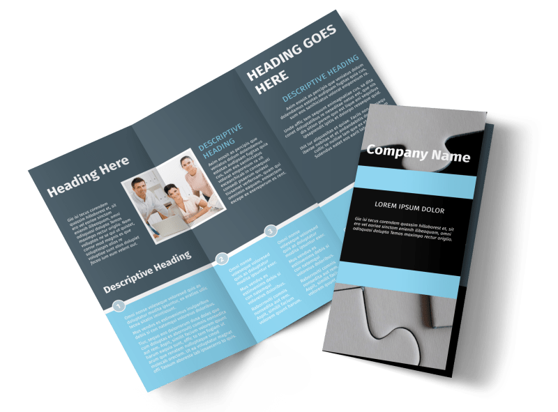 Mergers & Acquisition Firm Brochure Template Preview 1