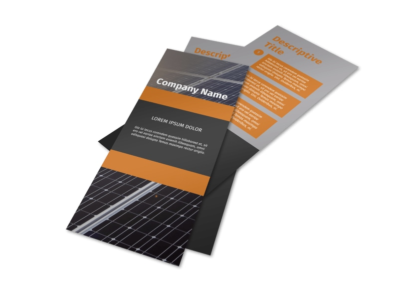 Clean Energy Consulting Flyer Template 2