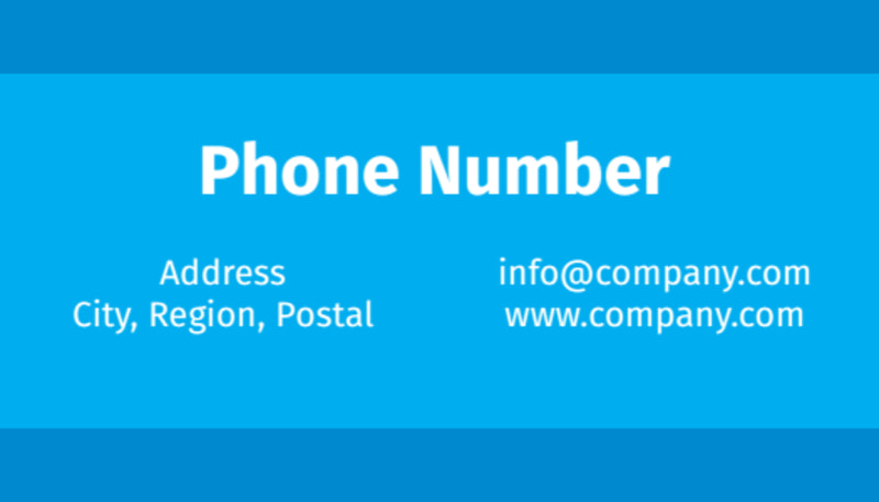 HR Consulting Business Card Template Preview 3