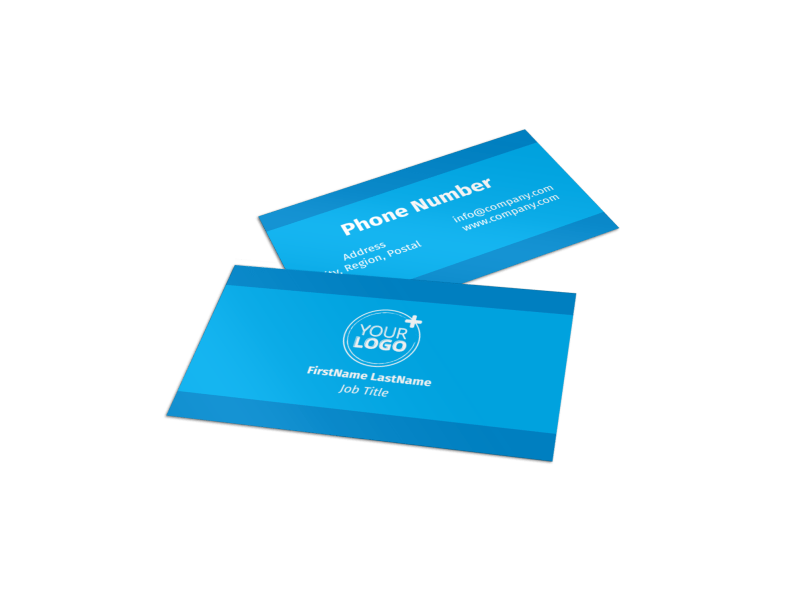 HR Consulting Business Card Template Preview 1