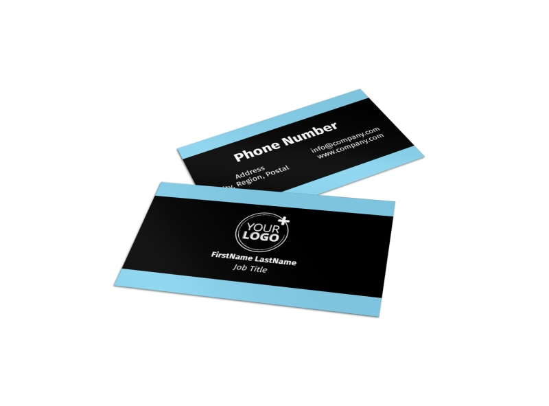 Mergers & Acquisition Firm Business Card Template Preview 4