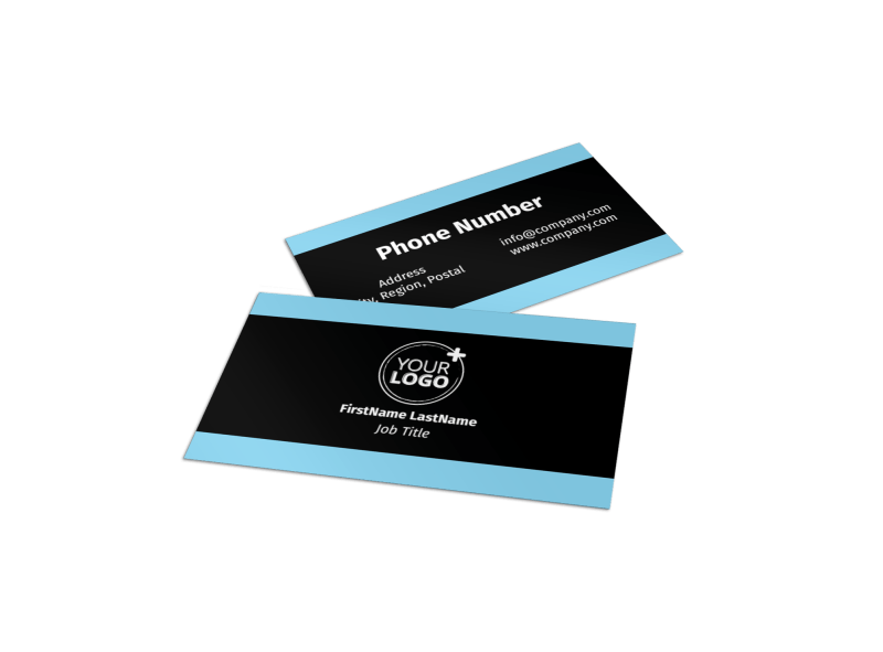 Mergers & Acquisition Firm Business Card Template Preview 1